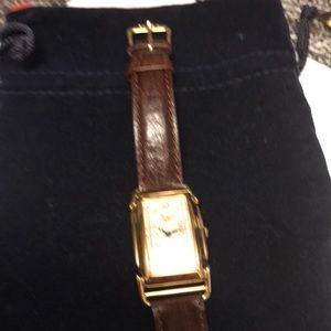 Fossil Brown Leather Band Watch